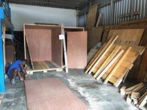 montage caisse sécurisée garde-meubles